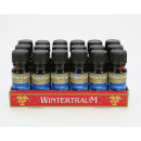 Fragrance oil 10ml Wintertraum wrapped in glass bo