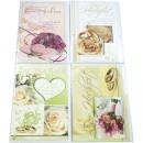 Großhandel Glückwunschkarten: Karte Hochzeit 17x11,5cm Rosenmotive ...