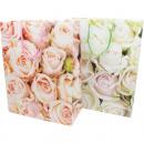 Ajándék táska 23x18cm Rose design, 2 válogatott