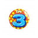 Button piccolo - ho 3 anni