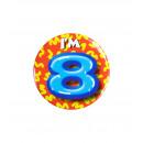 Button piccolo - ho 8 anni