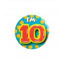 Button mały - mam 10