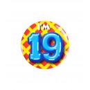 Button piccolo - ho 19 anni