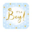 Bouclier hommage - Spécial - C'est un garçon !