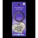 Hart sleutelhanger - oma
