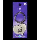 Hart sleutelhanger - BFF