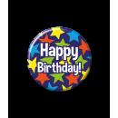 Odznaka urodzinowa - Happy Birthday