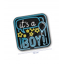 Neon decoration signs - It's a boy