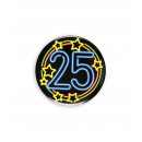 Neon badge - 25