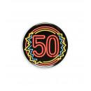 Neon badge - 50
