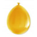 Party Balloons - Gold metallic