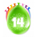 Balony imprezowe - 14 lat
