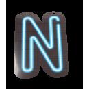 Neon letter - N