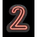 Neon letter - 2