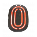 Neon letter - 0