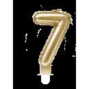 Świeca balonowa foliowa złota - 7