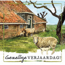 wholesale Gifts & Stationery: Map Rien Poortvliet Farm Cozy Birthday