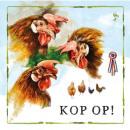 hurtownia Upominki & Artykuly papiernicze: Mapa Rien Poortvliet Farm Chicken Head op