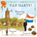 wholesale Gifts & Stationery: Map Rien Poortvliet Farm Party flag