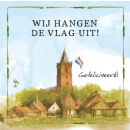 wholesale Gifts & Stationery: Map Rien Poortvliet Farm Flag Uit