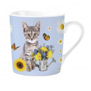 Mug Gray Tabby Cat