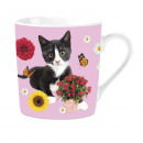Mug Black & White Cat