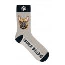 Zokni Francia Bulldog 42-45