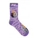 Großhandel Tücher & Schals:-Socken Katzencollage 42-45
