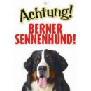 Warnzeichen Berner Sennehund