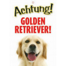 mayorista Jardin y Bricolage: Warnzeichen Golden Retriever