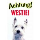Warnzeichen Westie