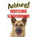 Warnzeichen Deutscher Schaferh