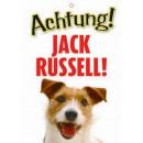 Warnzeichen Jack Russell