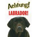 Warnzeichen Labrador