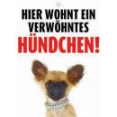 Warnzeichen Hundchen