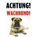 Warnzeichen wachhund