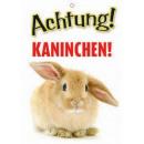 Warnzeichen Kaninchen