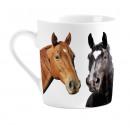 Großhandel Dekoration:Becher I Liebe-Pferde