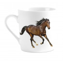 Großhandel Dekoration: Becher I Liebe-Pferderennen