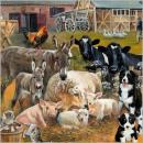 nagyker Ajándékok és papíráruk: Térkép CS Farmyard Animals