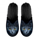 Slipper Cat fekete 39-42