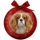 Großhandel Dekoration: Weihnachtskugel Frosted Cavalier
