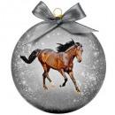 Karácsonyi csecsebecse matt ló