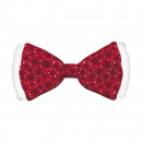 Bow Tie Satin Red Dog L