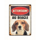 Panneau Metallique Beagle