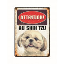 mayorista Jardin y Bricolage: Panneau Metallique Shih Tzu
