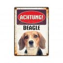 Shield Blech Beagle