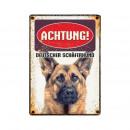 wholesale Pet supplies: Schild Blech Deutscher Schaferhund