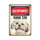 Pajzs Blech Shih Tzu