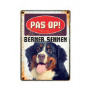 Plate Can Bernese Mountain